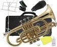 Kaerntner ( ケルントナー ) 送料無料 コルネット ゴールド KCT45 新品 イエローブラス 管楽器 初心者 楽器 B♭ 本体 マウスピース 弱音器 【 KCT-45 セット 】