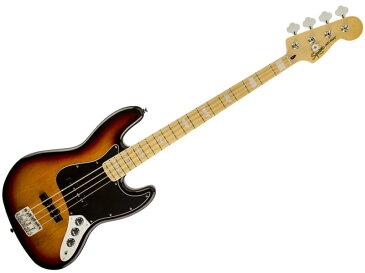 SQUIER ( スクワイヤー ) Vintage Modified Jazz Bass 77s (3TS)【ジャズベース by フェンダー】【307702500】【C3316 モノグラム・ストラップ プレゼント 】