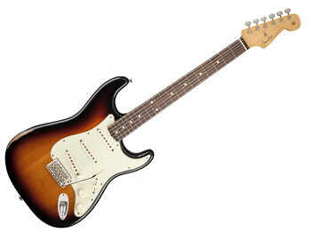 FENDERRoadWorn60sStratocaster(3TS)【レリックストラトキャスターMex】【131010300】【PT-03プレゼント】