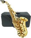 J Michael ( Jマイケル ) SPC-700 カーブドソプラノサックス 新品 アウトレット 管楽器 ソプラノサクソフォン カーブドネック サックス 管体 ゴールド 初心者 送料無料