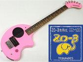 FERNANDES ( フェルナンデス ) ZO-3 (PINK)+GSZ500セット【ZO-3+ZO-3専用弦のセット】【ZO3プレゼントキャンペーン 】