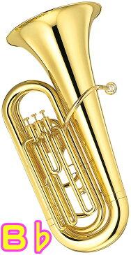 YAMAHA ( ヤマハ ) YBB-105 新品 B♭ チューバ 3ピストン 日本製 イエローブラス ゴールド 管体 トップアクション ピストンチューバ 管楽器 初心者 小型 軽量 バス 本体