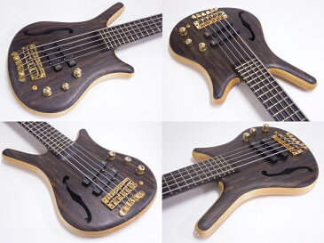 Warwick ( ワーウィック ) Custom Shop Thumb NT 5st Ziricote Top with F-Hole (Natural Oil Finish)【カスタムショップ製 WO】