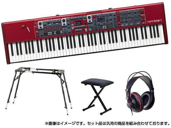 CLAVIANordStage388ホームセット    88鍵盤  ピアノ  オルガン  シンセサイザー  DTM  DAW