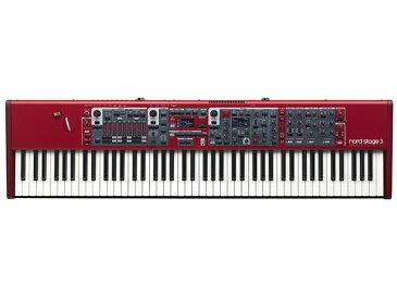 CLAVIA Nord Stage 3 88 ◆【送料無料】【88鍵盤】【ピアノ】【オルガン】【シンセサイザー】【DTM】【DAW】【smtb-k】