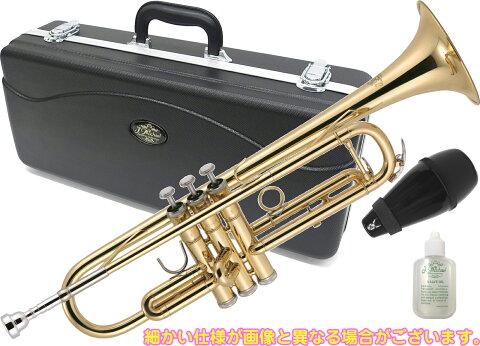 J Michael ( Jマイケル ) TR-200 トランペット 新品 アウトレット 初心者 管楽器 管体 ゴールド 本体 マウスピース Trumpet TR200 セット B  北海道 沖縄 離島は送料実費