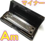 TOMBO ( トンボ ) 【 Am調 】 1710 マイナーボーイ 10穴 ブルースハーモニカ 10Holes harmonica No.1710 MAJOR BOY メジャーボーイ ブルースハープ型 正規品 日本製