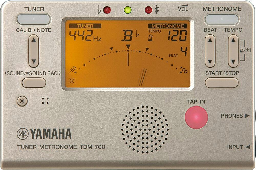 アクセサリー, メトロノーム YAMAHA ( ) TDM-700G metronome tuner TDM-700 gold