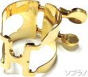 HARRISON ( ハリソン ) ソプラノサックス用 リガチャー ゴールド SGP 金メッキ GP 日本製 逆締め ラバータイプ マウスピース用 締金 S/GP soprano saxophone ligature