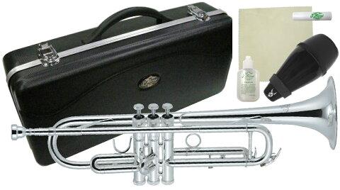 J Michael ( Jマイケル ) TR-300S トランペット 新品 アウトレット 銀メッキ 管楽器 スタンダード B♭ 本体 管体 初心者 Trumpet TR300S セット D 北海道 沖縄 離島不可