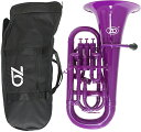 ZO ( ゼットオー ) ユーフォニアム EU-04 パープル 調整品 新品 アウトレット 4ピストン プラスチック B♭ 管楽器 樹脂製 紫色 purple 北海道 沖縄 離島不可・・・