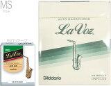 【メール便出荷品】 D'Addario Woodwinds ( ダダリオ ウッドウィンズ ) RJC10MS ラ・ボーズ アルトサックス用 リード Midium Soft LRICLVASMS La Voz リード 10枚入り alto saxophone ミディアムソフト MS 北海道/沖縄/離島/同梱不可