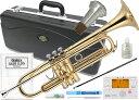 J Michael ( Jマイケル ) TR-200 トランペット 新品 ゴールド 管体 初心者 管楽器 スタンダード B♭ 本体 ラッカー 楽器 Trumpet TR200 セット H 北海道 沖縄 離島不可・・・