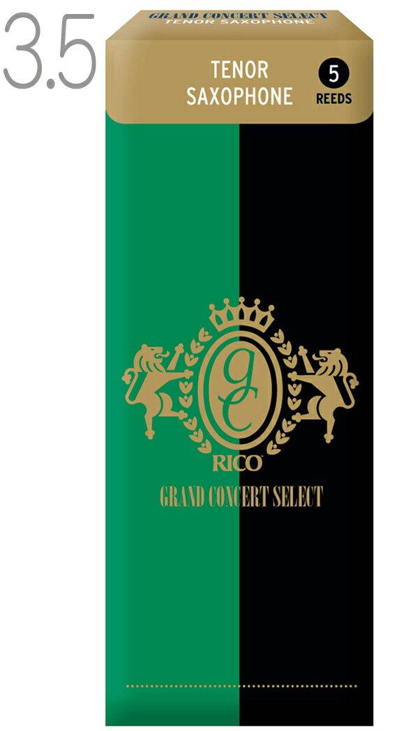 木管楽器用アクセサリー・パーツ, リード  DAddario Woodwinds ( ) RGC05TSX350 3.5 1 5 LRICGCTS3.5 Tenor saxophone Grand Concert Select 3-12