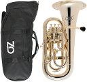 ZO ( ゼットオー ) ユーフォニアム EU-08 シャンパンゴールド アウトレット 4ピストン プラスチック 管楽器 Gold Euphonium  北海道 沖縄 離島 同梱不可・・・