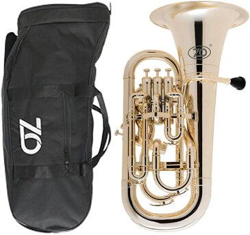 ZO ( ゼットオー ) ユーフォニアム EU-08 シャンパンゴールド アウトレット 4ピストン プラスチック 管楽器 Gold Euphonium  北海道 沖縄 離島 不可