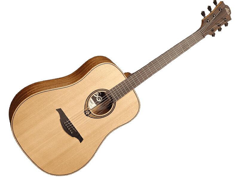 ギター, アコースティックギター LAG Guitars T170D