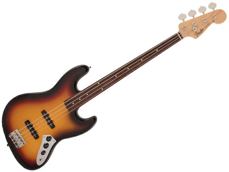 ベース, エレキベース Fender ( ) 2020 Collection Made in Japan Traditional 60s Jazz Bass Fretless 3TS