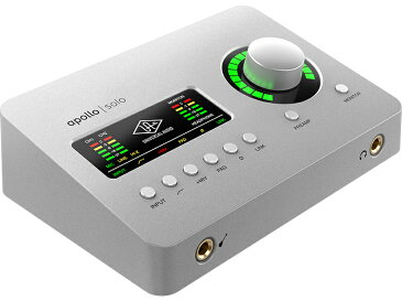 Universal Audio ( ユニバーサル オーディオ ) Apollo Solo [Macintosh / Windows 兼用 AUDIO I/F]【取り寄せ商品/納期数ヶ月以上 納期未定 】 ◆【 DAW 】【 DTM 】