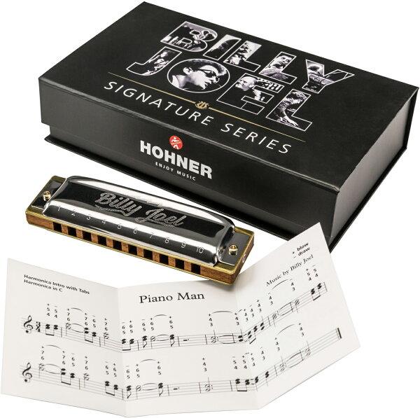 HOHNER(ホーナー)BillyJoelSignatureHarpブルースハーモニカビリージョエル10穴ハーモニカピアノマン前