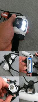 PETZL自動調光機能NAOナオリチャージャブルヘッドランプ