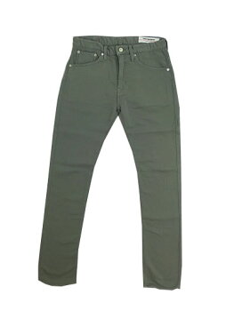 FOBF1141FOBファクトリーRELAXCOLORDENIM5Pパンツグレー
