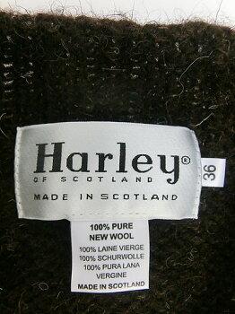 HarleyofScotland(ハーレーオブスコットランド)CREWNECKPULLOVERNOSHAGGYMushroom