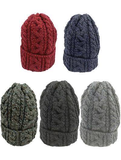 ハイランド2000 British Wool Cable Bobcap
