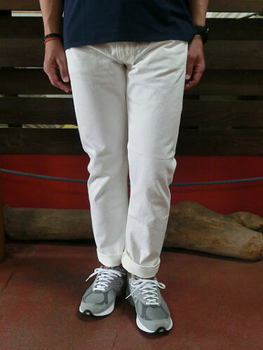 ORSLOW orSlow オアスロウ 01-0107-69 Mens IVY FIT JEANS ONE WASH アイビーフィットジーンズ ホ...
