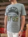 JUNKFOOD (ジャンクフード)【SALE】J8930-6062PEACE Tシャツ steel【あす楽対応】