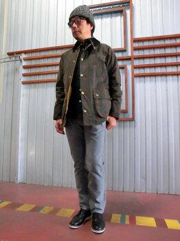 バブアーMWX0584OL71BedalleSlimFitビデイルスリムフィットWindowPaneCheckブルガリア製OL71