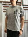 【SALE】Christopher Brown クリストファーブラウンイラストプリントTシャツWhite Grey