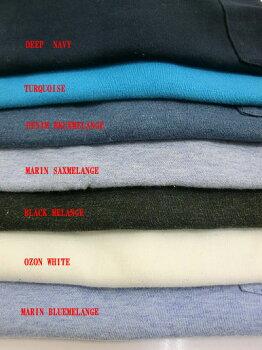 FilMelange(フィルメランジェ)SUNNY「サニー」斜行ポケットの一番人気ポケットTシャツオーリンダ使用の丸同生地使用