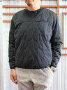SUNNYSPORTSSOFTSHELLCREW中綿インサレーションジャケットBlack