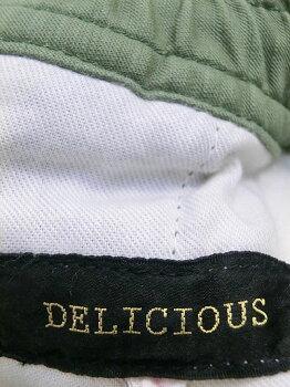 DELICIOUS(デリシャス)DP2594BarkerPantsベーカーパンツテーパードWhite【送料無料】【あす楽対応】