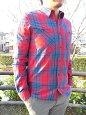 NudieJeans(ヌーディージーンズ)Joakimオーガニックコットンチェックシャツ33161-3010
