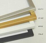 BH-210F 25角 250×250mm 水彩額 水彩額縁 デッサン額 デッサン額縁 アクリルガラス アルミ 正方形
