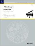 楽譜 クライスラー(ラフマニノフ編曲)/愛の悲しみ(演奏会用ピアノ独奏版)(SW1137/輸入楽譜/ソロ譜)
