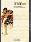 楽譜 ヴェルディ/歌劇「リゴレット」(歌詞:イタリア語) ヴォーカル・スコア/輸入楽譜(T)
