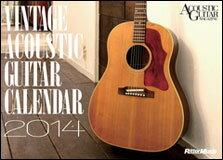ビンテージ・アコースティック・ギター・カレンダー2014(卓上版) 2272/左右175×天地126mm
