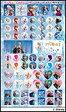 ディズニー アナと雪の女王/キラキラ☆レッスンシール(1セット10枚入り)