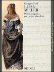 楽譜 ヴェルディ/歌劇「ルイザ・ミラー」(歌詞:イタリア語)(50017990/CP42310/05/ヴォーカル・スコア/輸入楽譜(T))