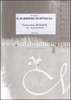 楽譜 ロッシーニ/序曲「セヴィリアの理髪師」(01-341-23/輸入吹奏楽譜/T:7:00/G4.5):楽譜ネッツ
