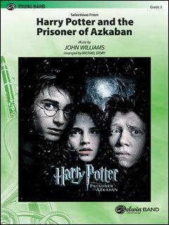 楽譜 「ハリー・ポッターとアズカバンの囚人」よりセレクション(CBM04021/輸入吹奏楽譜(T)/G2/T:3:48)