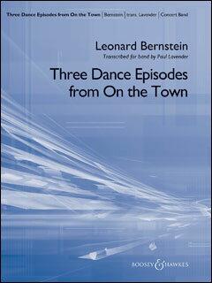 楽譜 バーンスタイン/3つのダンス・エピソード(「オン・ザ・タウン」より)(【1987274】/48023362/輸入吹奏楽譜(T)/G5/T:11:00):楽譜ネッツ