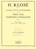 クローゼ/ミュール:サクソフォンのための25の日課練習_ルデュック社ライセンス版