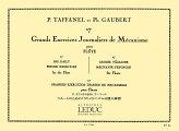 タファネル&ゴーベール:フルートのための17のメカニズム日課大練習_ルデュック社ライセンス版