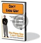 [DVD] ノラ・ジョーンズ/ドント・ノウ・ホワイ(ピアノの教則DVD)【DM便送料無料】(Norah Jones - Piano Guy 1-on-1 Series,The - Don't Know Why)《輸入DVD》
