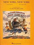 [楽譜] クロード・ボリング/ニューヨーク・ニューヨークのテーマ【5,000円以上送料無料】(Claude Bolling - New York, New York)《輸入楽譜》