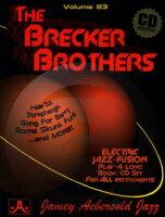 [楽譜] ジェイミー Vol.83 ブレッカー・ブラザーズ曲集(CD付)【10,000円以上送料無料】(VOLUME 83 - THE BRECKER BROTHERS)《輸入楽譜》